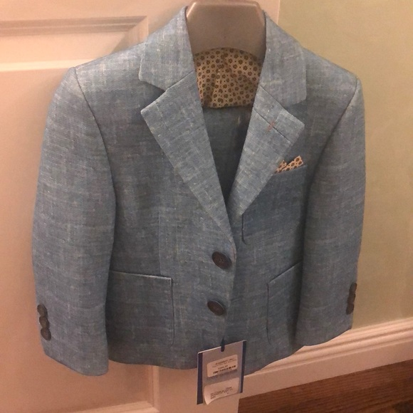 Other - Bergano uomo kids suit with blazer and pants